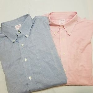 Brooks Brothers Button Down Shirt 16 1/2 -33